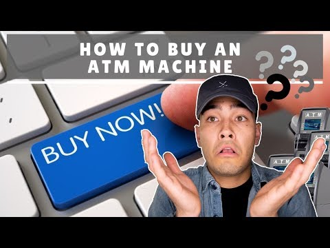 How To Buy An ATM Machine