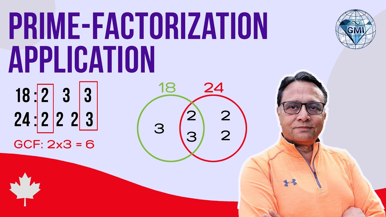 Understand Prime Factors Lcm And Gcf Relation With Venn