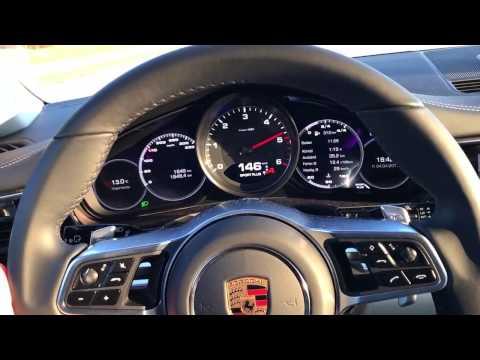 Porsche Panamera 4S Diesel 2017 ACCELERATION 0-200