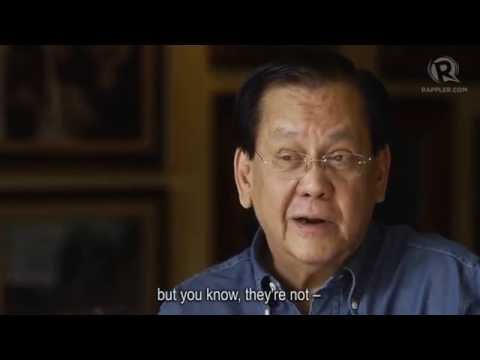 The last session: Serge Osmeña leaves the building
