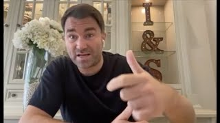 'WE ARE READY TO SIGN' -EDDIE HEARN ON AJ-FURY, CANELO-SAUNDERS, WHYTE, JAKE PAUL, CHISORA, SKY-DAZN