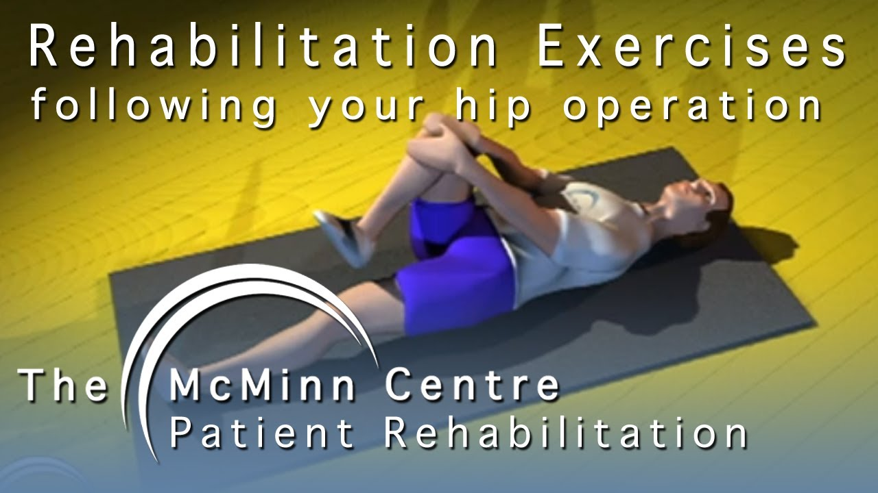 Rehabilitation Exercises following your Hip Operation ...
