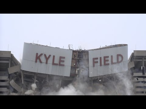 Kyle Field Implosion
