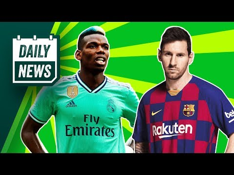 Is Paul Pogba about to sign for Real Madrid?! ► Daily News