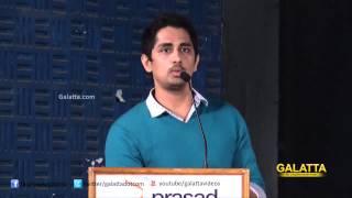 Siddharth at Enakkul Oruvan Press Meet