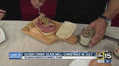 Queen Creek Olive Mill Christmas In July