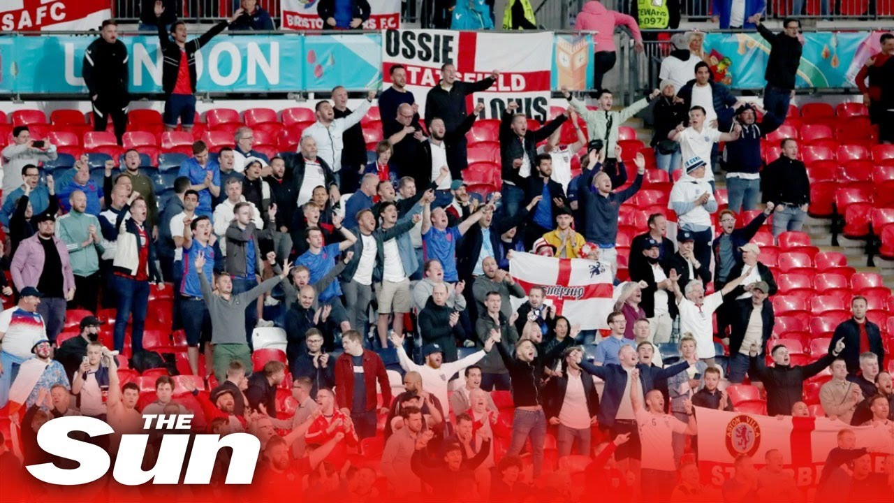Euro 2020 live: Fans gather for the England v Germany game in London