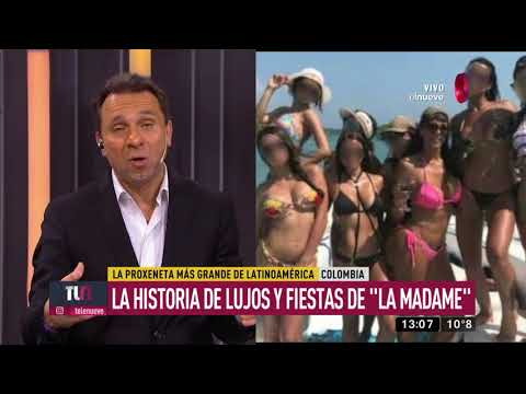 Las siniestras fiestas sexuales de 'La Madame'