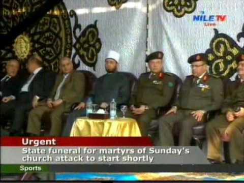 state funeral for martyrs of Church attak 12 12 2016