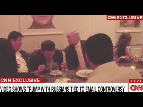 footage of Trump palling around with Russian figures at the center of Don Jr.'s emails