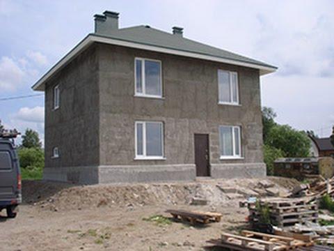 Дом из опилкобетона пошаговая инструкция 74