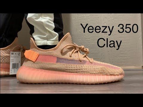 Adidas Yeezy Boost 350 V2 Clay On-Feet