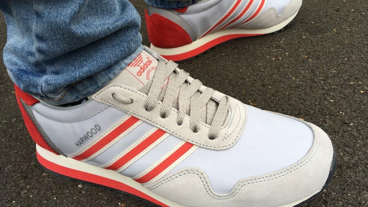 huge discount 0c888 611da Adidas Harwood SPZL (unboxing  on foot) - YouTube