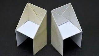 Kağıt Sandalye Yapımı