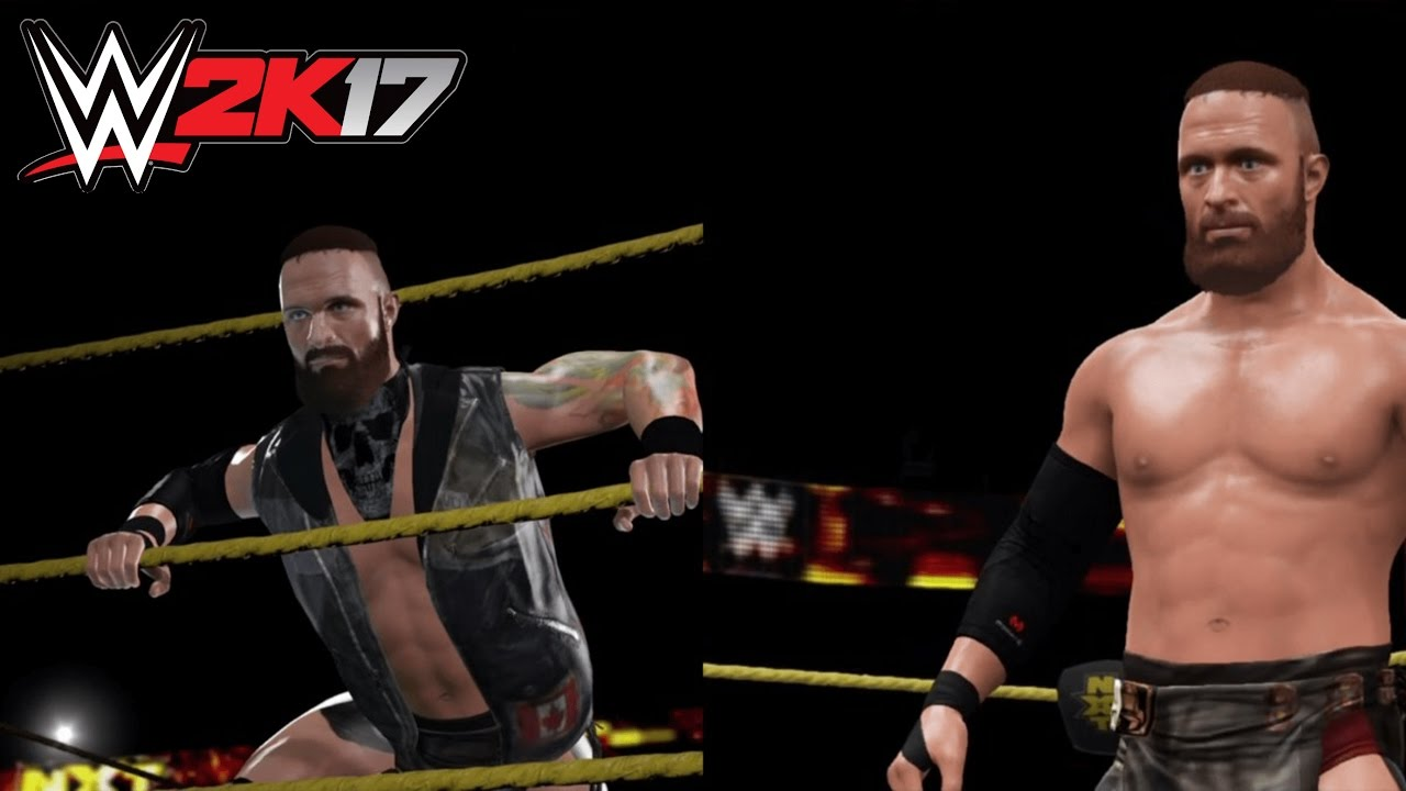 Wwe 2k17 Eric Young Ps4 Caw Best Dlc Community Creation Youtube