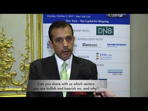 2017 9th Annual New York Maritime Forum - Mr. Gautam Khurana Interview