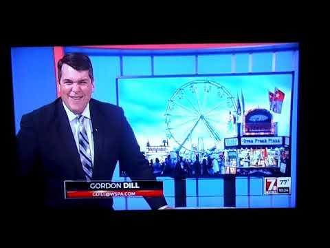 WSPA TV Blooper Gordon Dill Amy Wood
