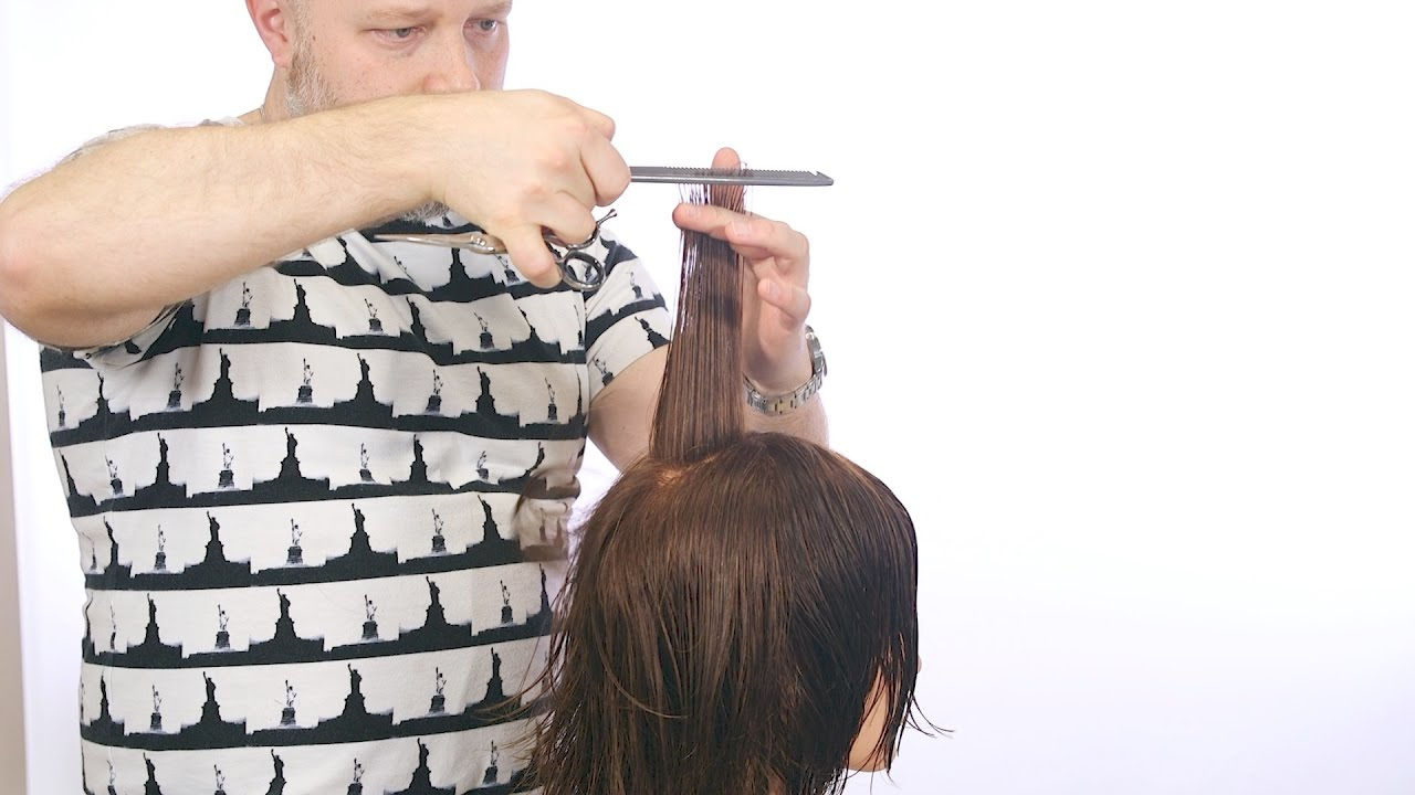 How To Cut A Shag Haircut For Men Thesalonguy Youtube