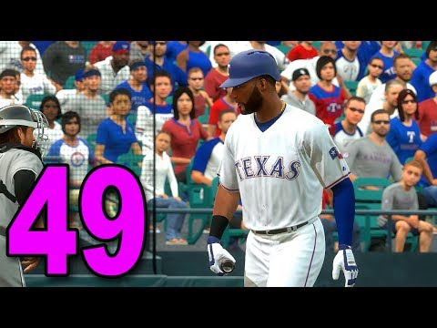 MLB 17 Pitch to the Show - Part 49 - Rangers have HOT BATS
