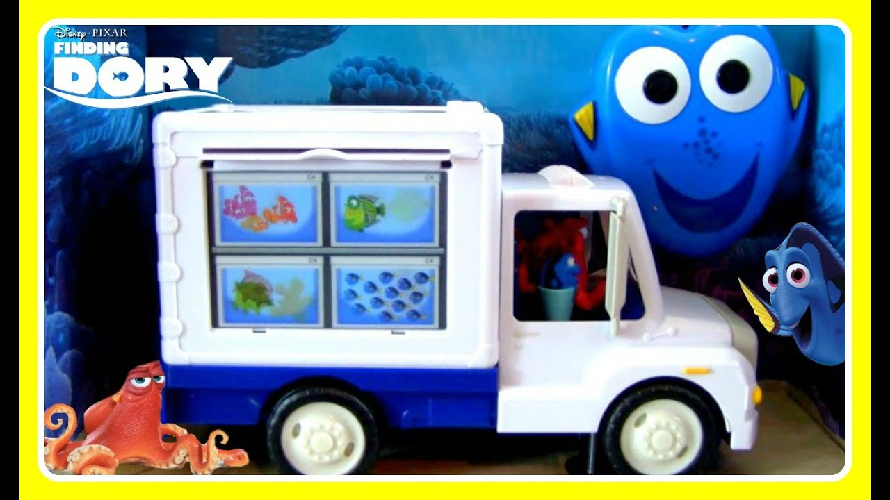 Finding dory dory s aquarium truck remote control toy for Finding dory fish tank