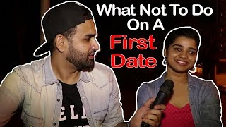 What Not To Do On A FIRST DATE | Valentine's Day Tips | BOB - Sid