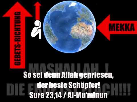 einladung ins paradies - beten richung mekka - youtube, Einladung