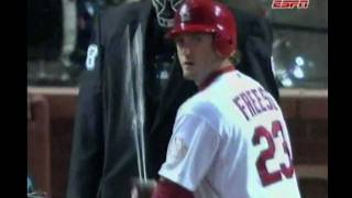 David Freese Game 6-Angels in the Outfield