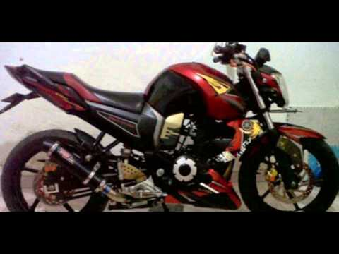 referensi modifikasi motor byson merah
