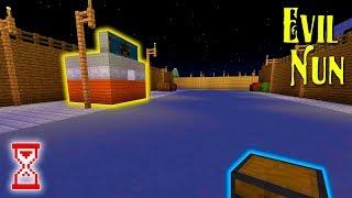 Построил кладбище со склепом и обустроил Парковку | Minecraft Evil Nun