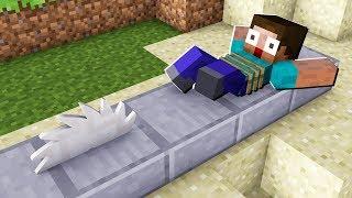 Working SAW BLADE TRAP in Minecraft!