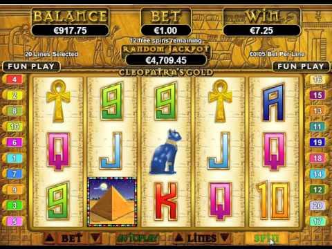 Free Video Slots Kleopatra