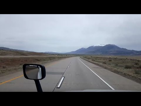 BigRigTravels LIVE! St George to Nephi, Utah  Interstate 15 North-April 10, 2018