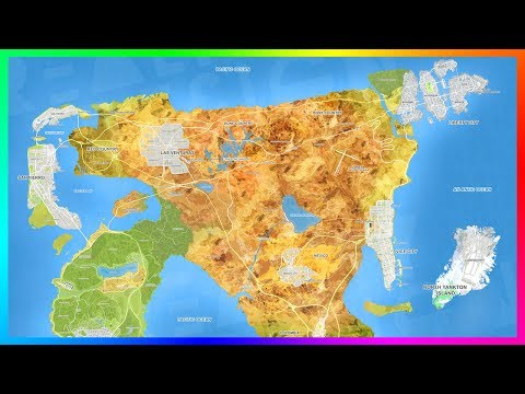 GTA 6 ULTIMATE World Expansion Map Concept Featuring 8 MASSIVE Cities, NEW Islands & MORE! (GTA VI)