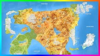 Gta 6 Ultimate World Expansion Map Concept Featuring 8 Massive Cities, New Islands & More!  Gta Vi
