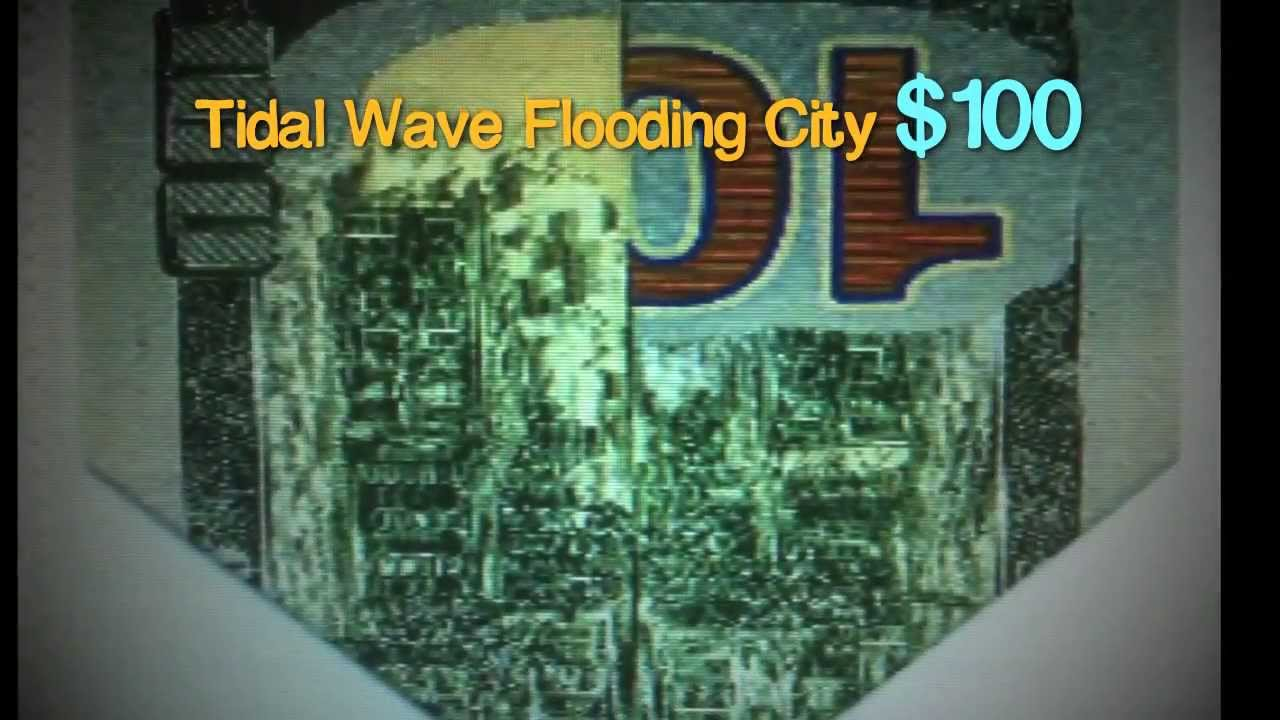 Image result for picture of $100 bill tidal wave