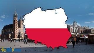 Flag Map Speedart - Poland