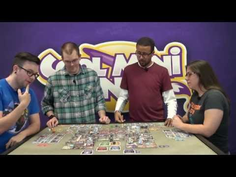 Arcadia Quest: Beyond The Grave Expansion Gameplay with Eric