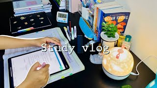 Study vlog *PRODUCTIVE* 🍃ft.lot of studying  unboxing 🍒, food 🍲  pcmb 11th grader NEET Aspirant