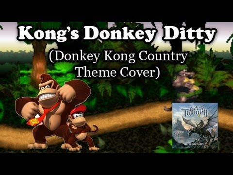Kong's Donkey Ditty (Donkey Kong Country Theme) - Metal/Rock Cover mp3