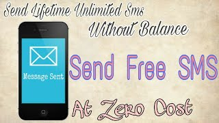 How to send sms free of cost