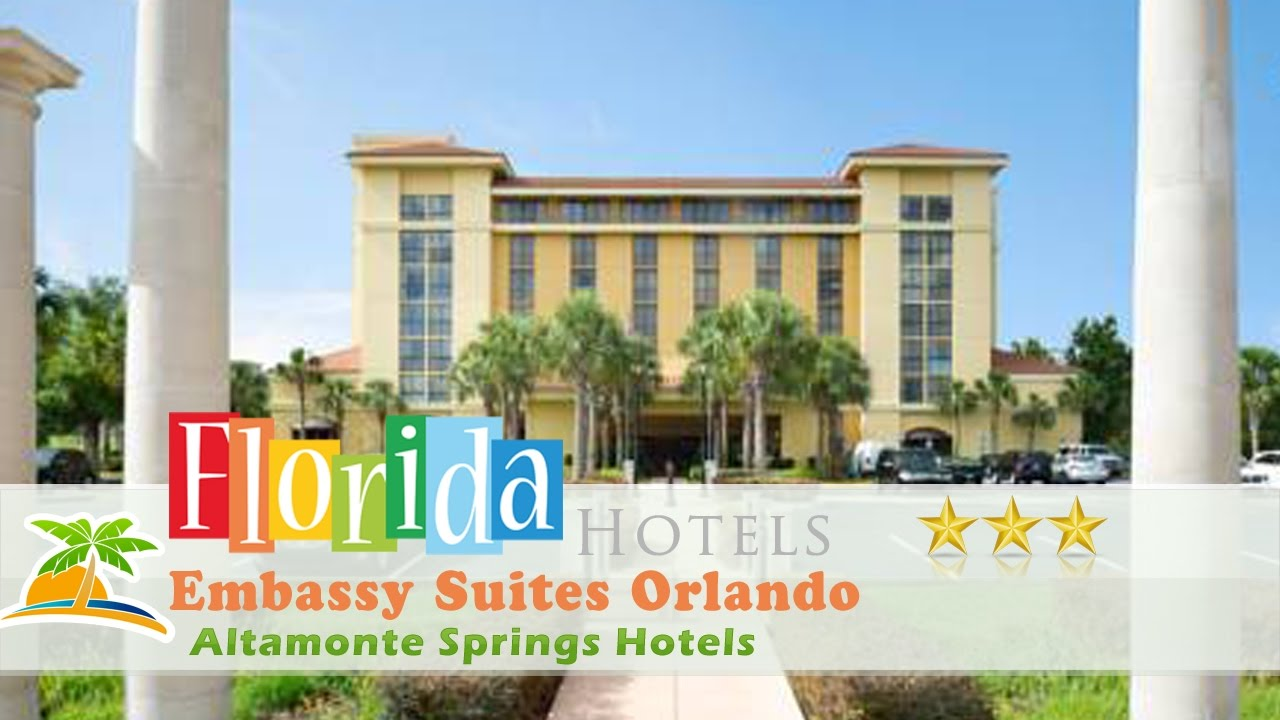 Embassy Suites Orlando North Altamonte Springs Hotels Florida