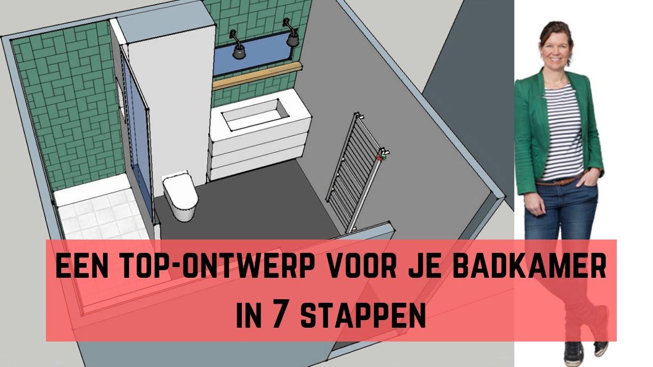 Uitgelezene Een top-ontwerp voor je badkamer in 7 stappen - De XR-58