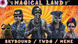 Skybound|TWDG| Magical land (humor-meme)