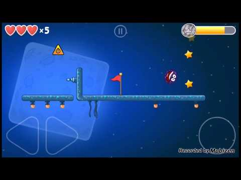 Red ball 4 level 54 (moon levels)