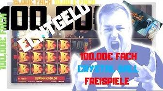 ONLINE CASINO 😱CRYSTAL BALL 🔮100,00€ FACH FREISPIELE 8900€ JACKPOT MEGA BIG WIN CASH 100% ECHTGELD