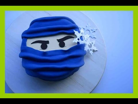 Ninjago Fondant Torten Tutorial  Ninjago Torte  Einfache Ninjago Torte  Kuchenfee  YouTube