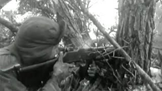 Combat footage, Korean war - newsreel (1950)