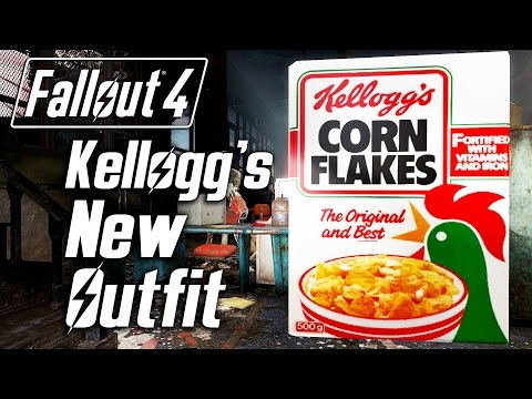 Fallout 4 - Kellogg's New Outfit :D