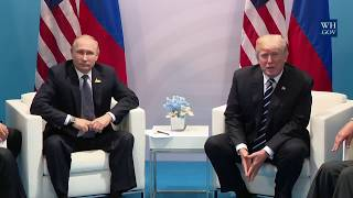 President Trump Participates in an Expanded Meeting with President Vladimir Putin of Russia