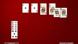 Hoyle Card Games 2002: Solitaire - Aces Up